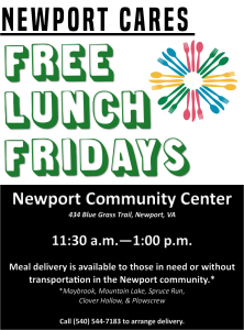 Free Lunch Fridays @ Newport Community Center